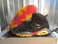 RARE 2010 Air Jordan Retro VI Pistons 6 Men's Black Suede Basketball Shoes sz 14