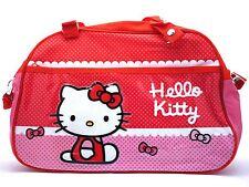 HELLO KITTY PINK SCHOOL BAG SATCHEL SHOULDER BAG HANDBAG LUNCHBAG