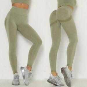2Pcs Women Crop Top Pants Tracksuit Set Slim Fit Lounge Wear Yoga Sport Gym Suit