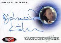 James Bond Heroes & Villains Michael Kitchen as Bill Tanner Autograph Card A144