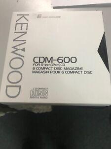 Kenwood CDM-600 6 disc CD magazine 3 pack