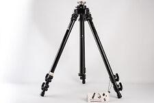 Bogen Manfrotto 3221 Professional Tripod Black with Extended Center Column V10