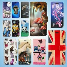 FOR APPLE IPHONE SE 2020 & MORE LEATHER WALLET BOOK PHONE CARD TWO SLOTS PATTERN