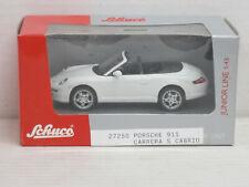 Porsche 911 Carrera S Cabrio in weiß, Schuco, OVP, 1:43