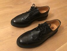 Trickers 4 Fitting 4 (US 6, EU 36.5) Ladies Black Box Calf Derby Brogues