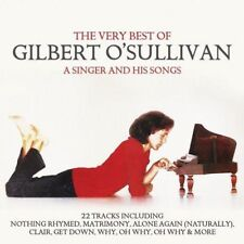 The Very Best of Gilbert O'Sullivan - CD - Singer and Songs - 22 Track Edition