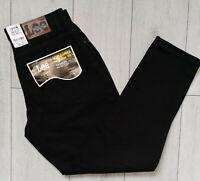 *NEU* Lee Virginia Schwarz W34 L31 Herren Jeans Hose Regular