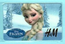 $0 H/&M UK Frozen Elsa 2015 Gift Card
