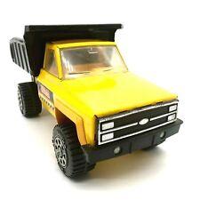 Vintage Yellow  Black Tonka Dump truck