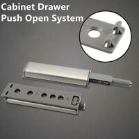 1x Cabinet Latch Door Drawer Push to Open System Damper Buffer Catch Set Kit
