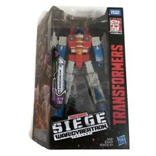 TRANSFORMERS Siege War For Cybertron Voyager Class STARSCREAM Hasbro Age 8+