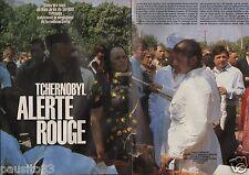 Coupure de presse Clipping 1986 Tchernobyl alerte rouge   (6 pages)