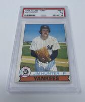 "1979 O-Pee-Chee JIM ""CATFISH"" HUNTER Baseball Card #352 New York Yankees PSA 5"