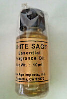 Essential Fragrance India Aroma Oils by New Age: White Sage 10 ml