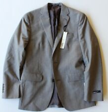 Bar III Slim Fit Mens Wool Blazer Sport coat - Gray Glen Plaid - 36s short