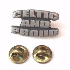 Celtic et Proud artisanal en anglais Badge Pins à goupille