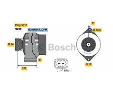 BOSCH 0 986 080 370 generatore più 100 € Deposito OPEL ASTRA H GTC Zafira B