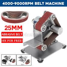 Amoladora Banco Multifuncional Mini Lijadora de banda máquina de pulir para pulir