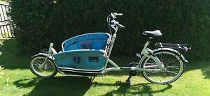 "Gazelle Lastenrad Cargo Bike Transportrad Pedelec E-Bike 35km/h möglich 20""/26"""