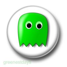Pacman Ghost 1 Inch / 25mm Pin Button Badge Arcade Computer Video Game Classic