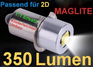 MAGLITE CREE LED Upgrade (350LM) Passend für 2D - kostenloser Versand !!!
