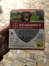 Bayer K9 Advantix II Flea & Tick for Extra Large Dogs over 55lbs 4 Months