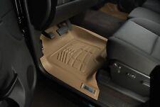 2007-2014 GMC Yukon XL Sure-Fit Floor Mats Tan