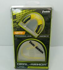 Franklin Oral-Armor Mouth Guard Yellow and Black Youth 7-10