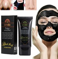 PURIFYING BLACKHEAD REMOVER PEEL-OFF FACIAL CLEANING BLACK FACE MASK 50ML ONE1X
