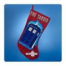 Doctor Who TARDIS Red Christmas Stocking