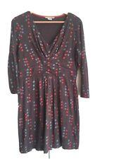 Boden Soft Jersey V Wrap Neck dress Ladies Size 14R.