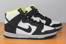 NIKE DUNK HIGH PRO SB SZ 7 BLACK BASE GREY VENOM GREEN NEON VOLT 305050 017