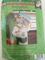 "Bucilla Let It Snow ~ 18"" Felt Christmas Stocking Kit #86650 NEW"