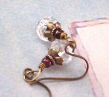 Petite Victorian Crystal Earrings     Yarrows Garden