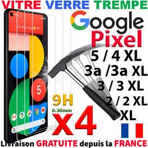 Vitre Protection Écran Pour Google Pixel 5 4XL 4a 5g 3A XL 3A 2XL Verre Trempe