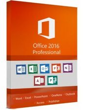 Microsoft Office Professional 2016 - New - Full Version - Download