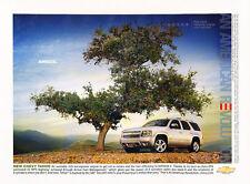 2007 Chevrolet Tahoe - Vintage Advertisement Car Print Ad J412