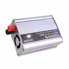 Car Power Inverter Converter DC 24V-AC 220V 500W Truck Automotive Laptop Boat