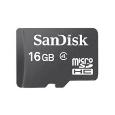 Sandisk 16GB Micro SDHC SD Memory Card Class 4