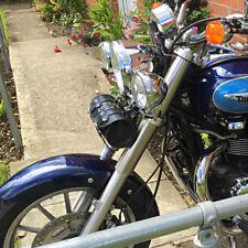 Motorrad Leder Werkzeug Rolle Satteltasche Triumph Rocket Bonneville Thunderbird