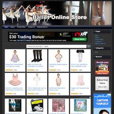Dancing Ballet Store Online Business Website For Sale Affiliate Home Make Money