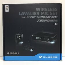 (New) Sennheiser Wireless Lavalier Microphone Set XSW 2-ME2