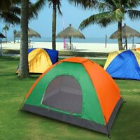 1-2 Person Outdoor Camping Family Pop Up Tent Portable Waterproof Canopy Hiking