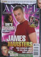JAMES MARSTERS 2005 ANGEL Magazine #11 / SETH GREEN / ALEXA DAVALOS / NEW