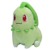 Original fit Chikorita Plush Doll Stuffed Toy Pocket Monster 14cm Gift