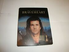 Braveheart *Steelbook* Like New* (Blu-Ray 2-Disc Set )*No Digital Code*