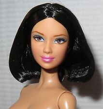 NUDE BARBIE ~RAVEN BROWN EYE BASICS MODEL #5 05 003 MUSE ASIAN LEA DOLL FOR OOAK