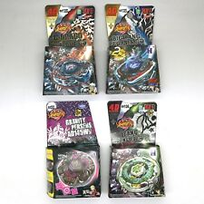 Set Pack of 4 Assorted Beyblades Metal Masters - L Drago Pegasus Fang USA Seller