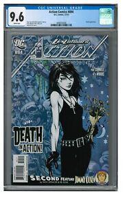 Action Comics #894 (2010) Key 1st Death in DC Continuity CGC 9.6 JZ259