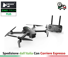Drone Hubsan ZINO PRO + PLUS GPS 8KM FPV 4K UHD 30fps volo 43 minuti IN ITALIA